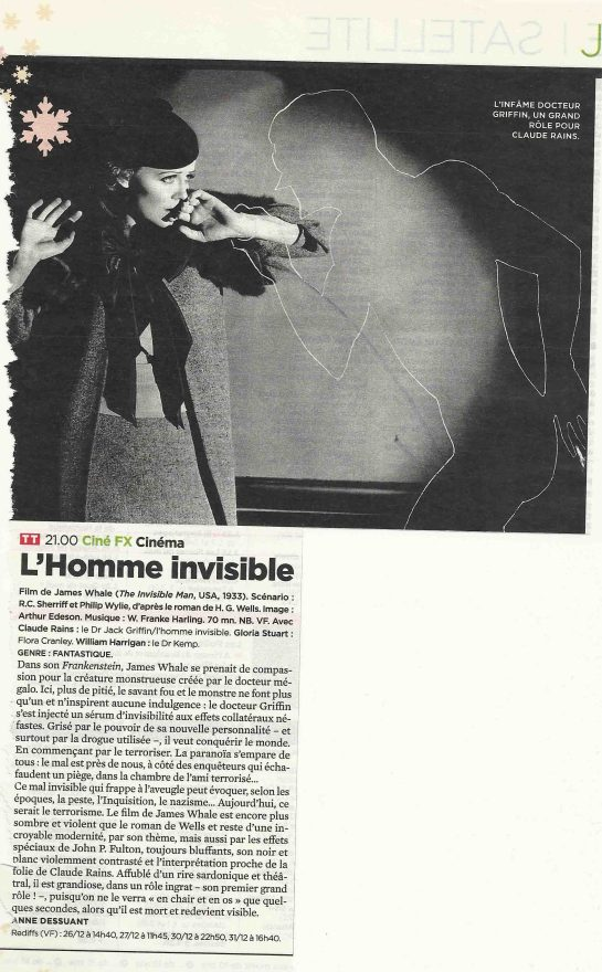 L'homme invisible (2)